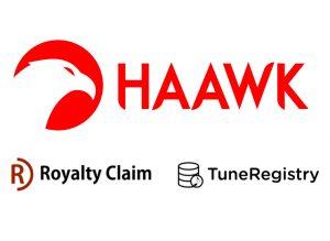 HAAWK TuneRegistry RoyaltyClaim Logos